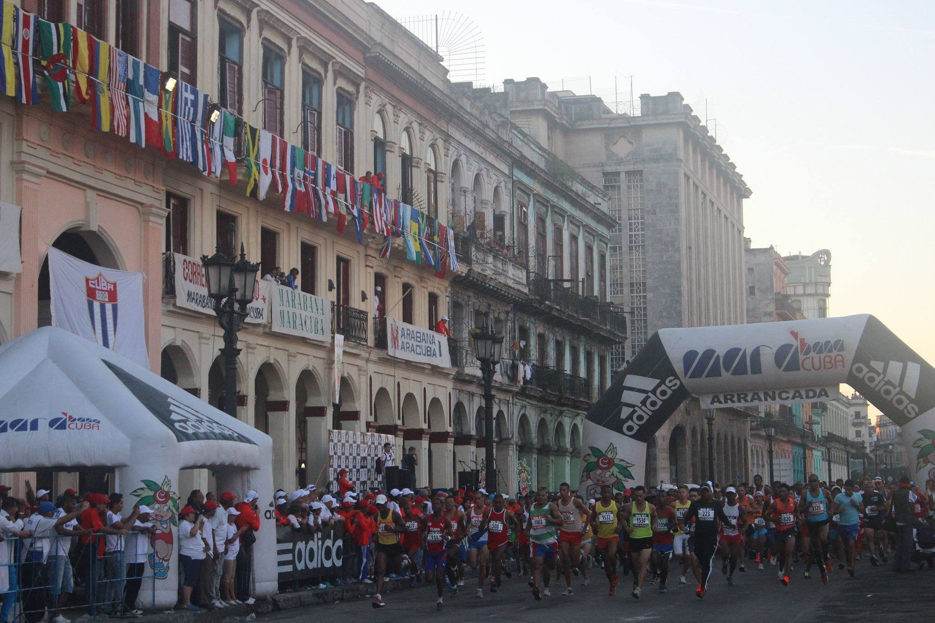 Best time for Marabana: Havana Marathon in Cuba