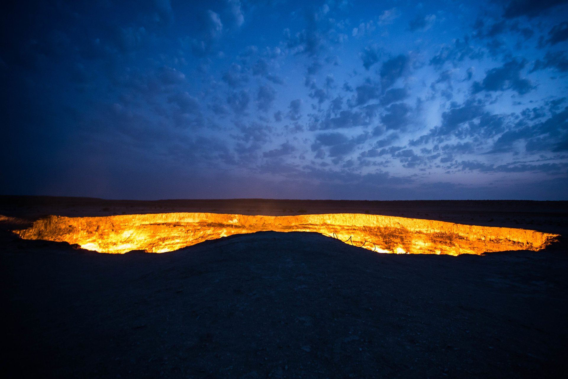 Best time to see The Gates of Hell (Darvaza Gas Crater) in Turkmenistan 2020