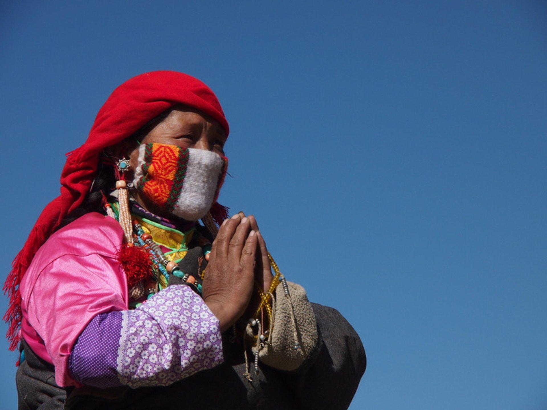 Best time for Saga Dawa Festival in Tibet 2019