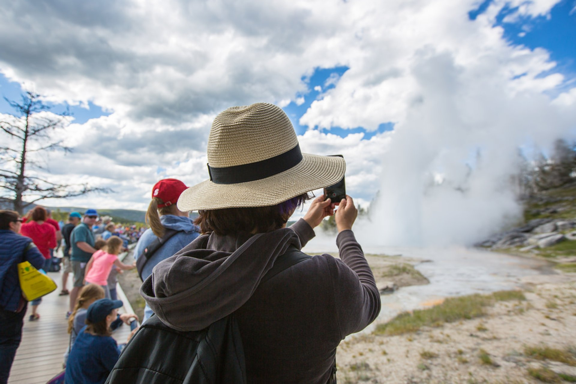 High Season in Yellowstone National Park - Best Season 2020