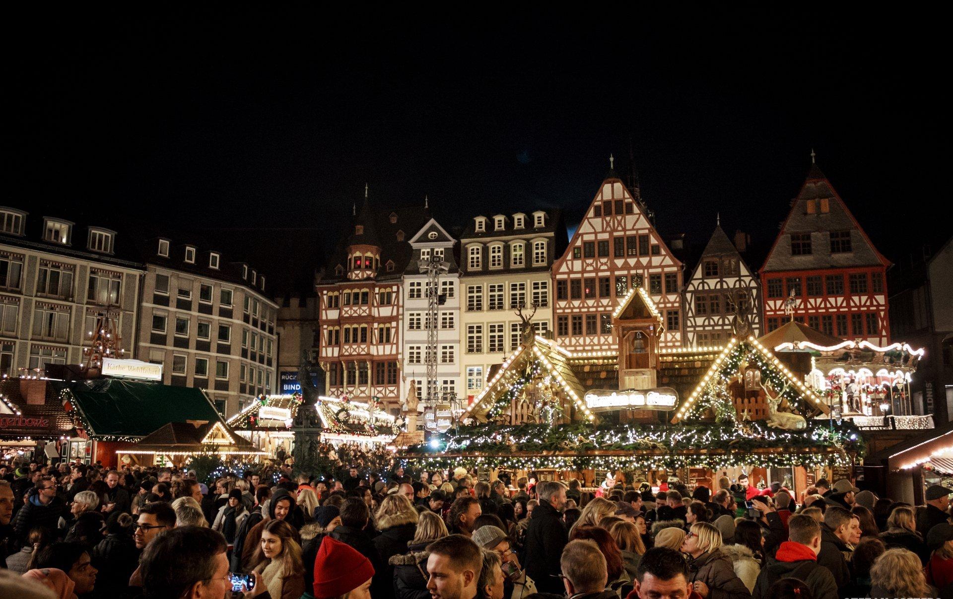 Frankfurt Christmas Market at Römerberg 2020