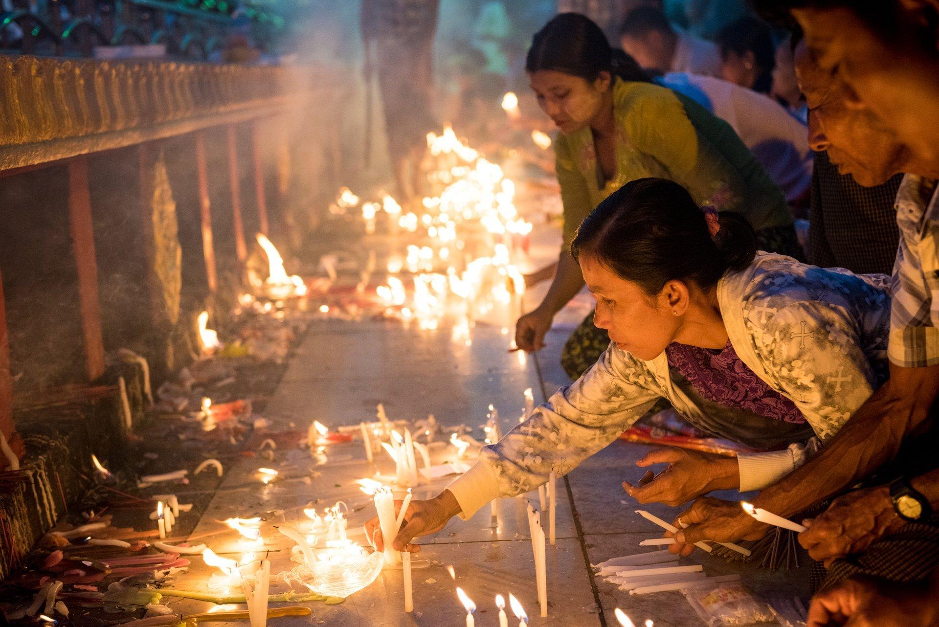 Thadingyut Festival of Lights in Myanmar 2019 - Best Time