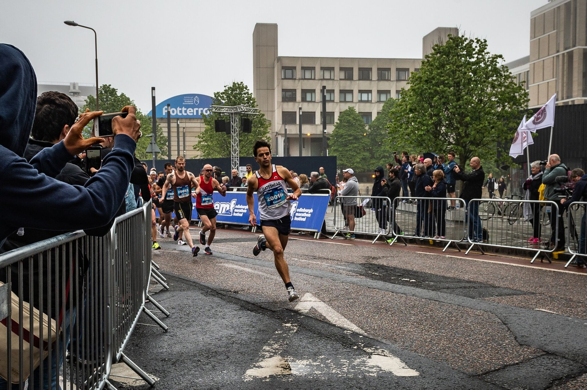 Best time to see Edinburgh Marathon 2020