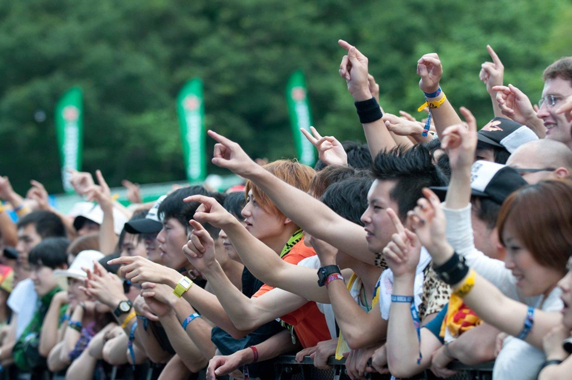 Fuji Rock Festival in Japan 2020 - Best Time