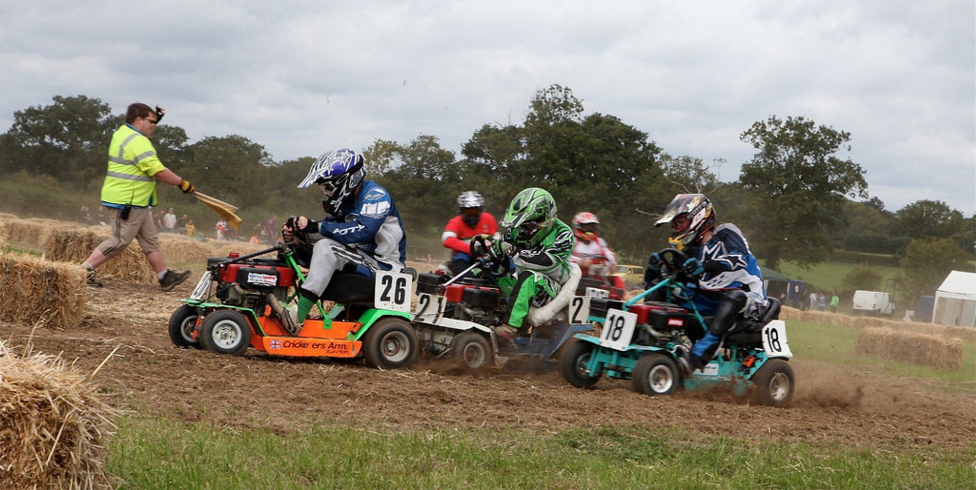 Lawn Mower Racing World Championships in England 2019 - Best Time