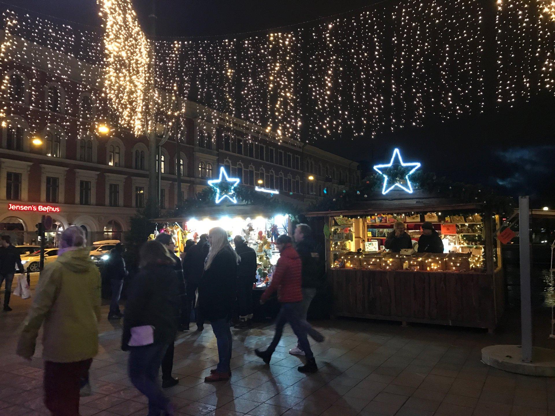 Malmö Christmas market 2020