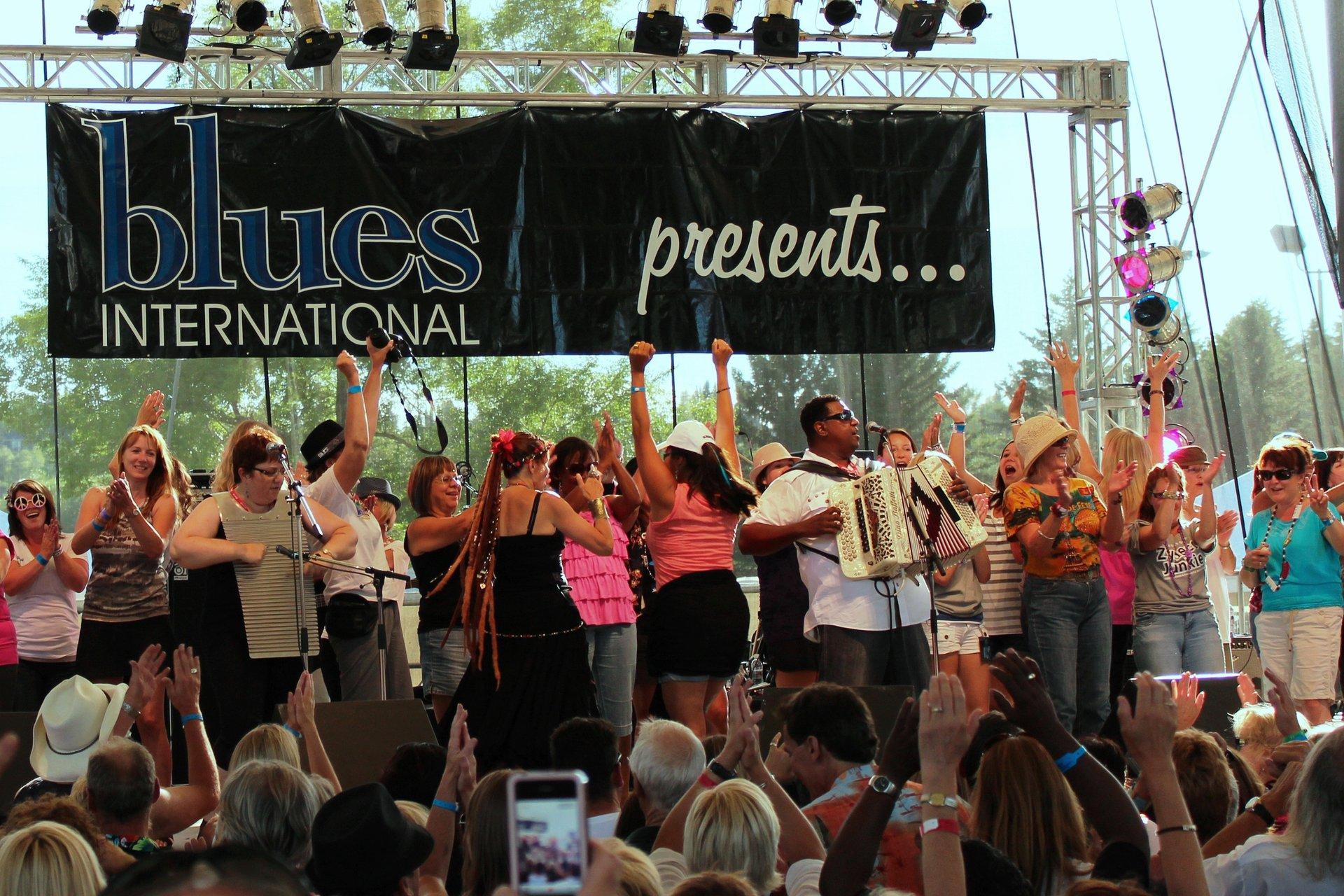 Best time for Edmonton Blues Festival in Edmonton 2020