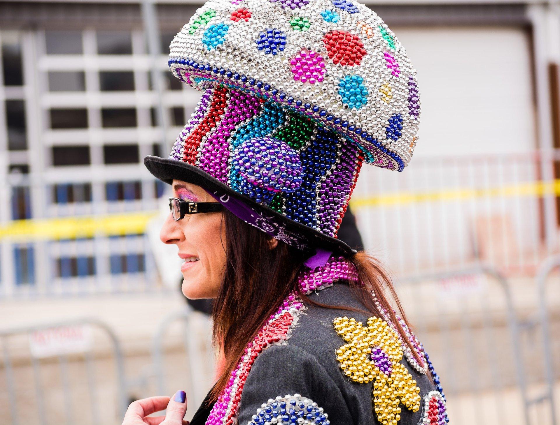 Best time for St.Louis Mardi Gras (Soulard Mardi Gras) in Midwest 2020
