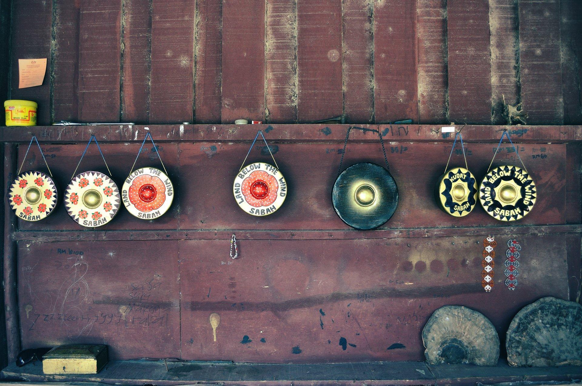 Gong Making in Sabah & Matunggong Gong Festival in Borneo - Best Season 2020