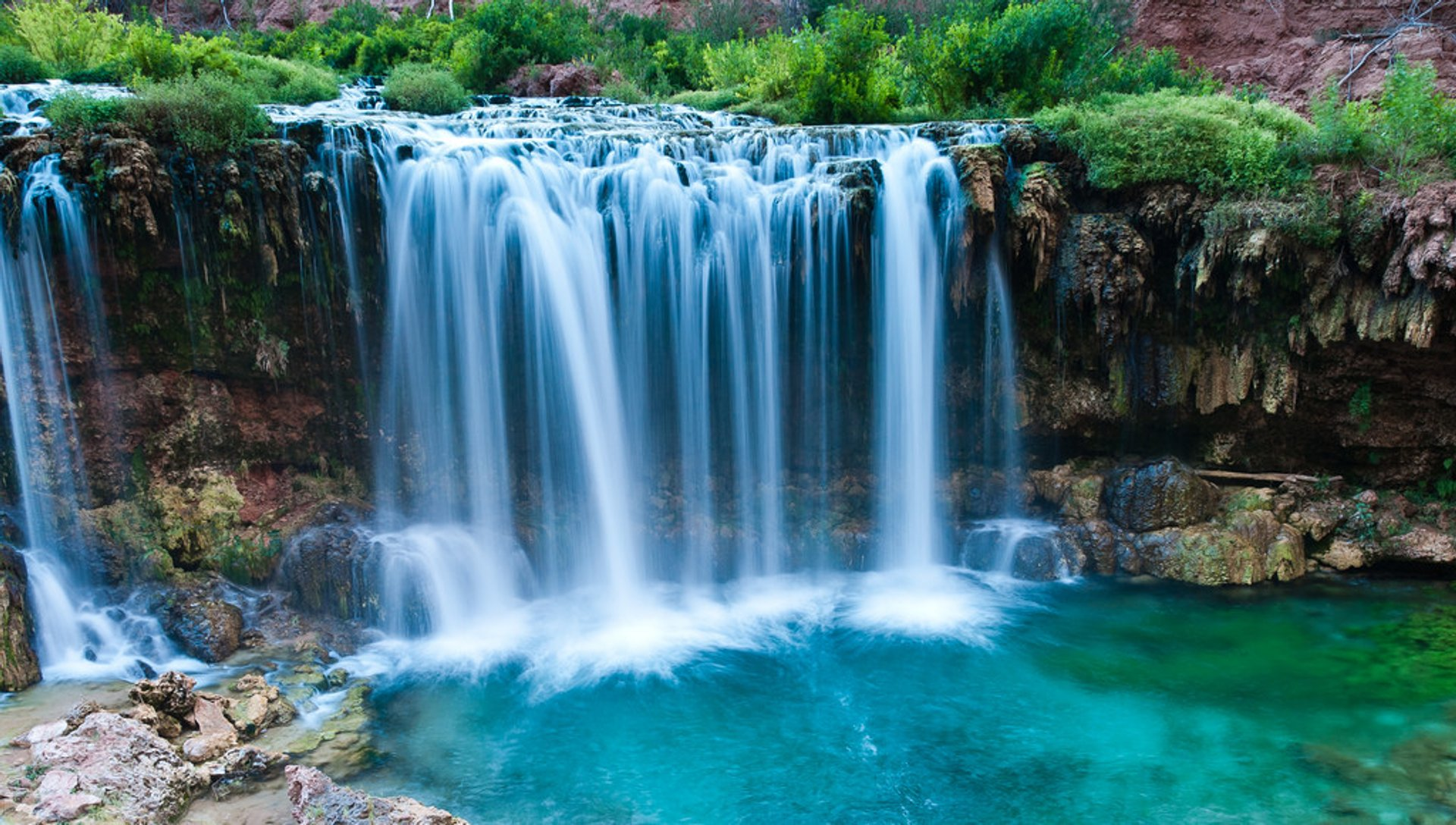 Best time to see Havasu & Navajo Falls in Arizona 2020
