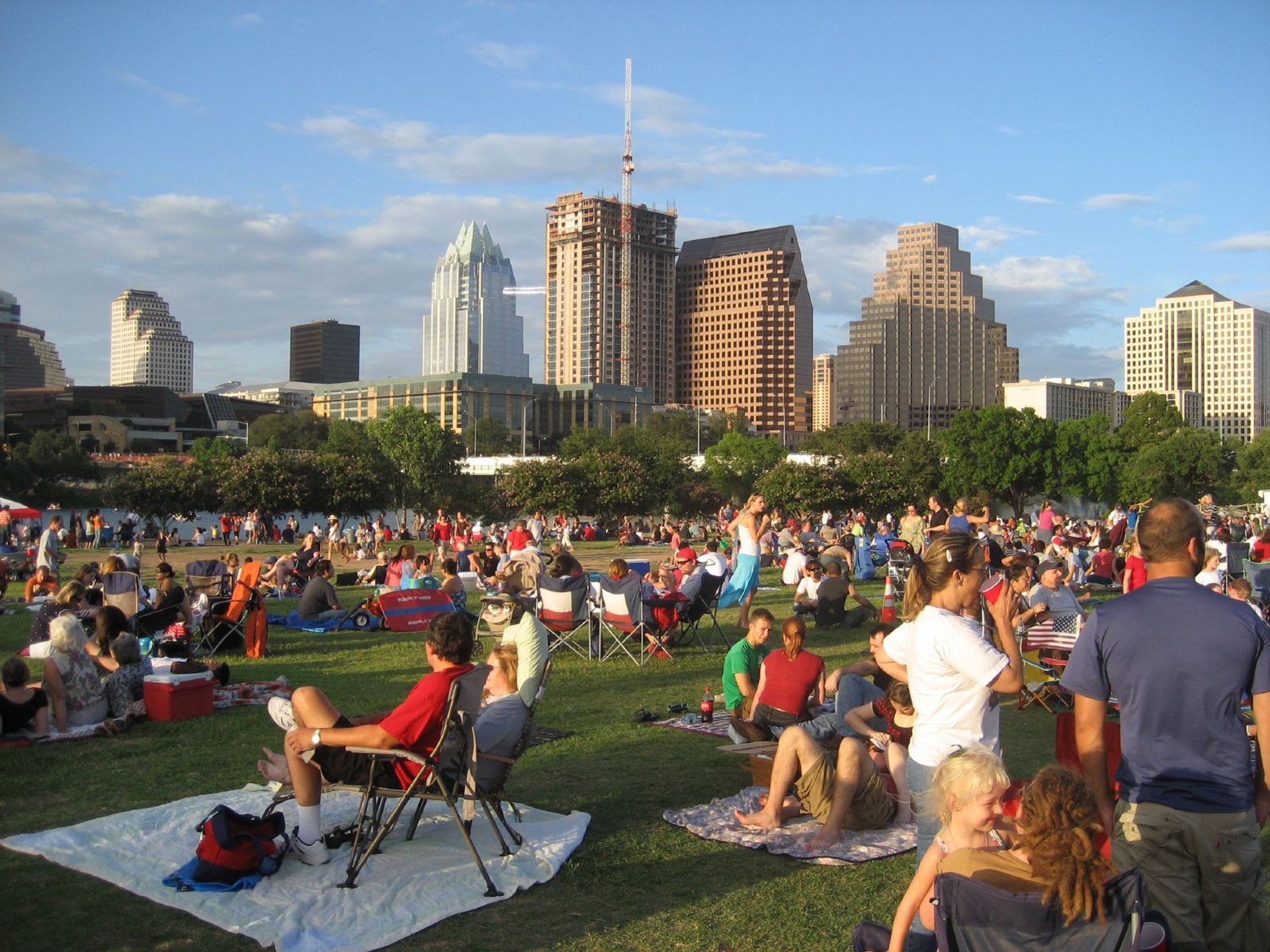 Auditorium Shores, July 4th 2020