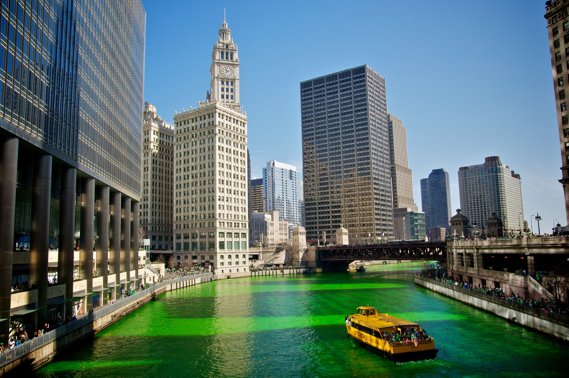 St. Paddy's Day in Chicago 2019 - Best Time