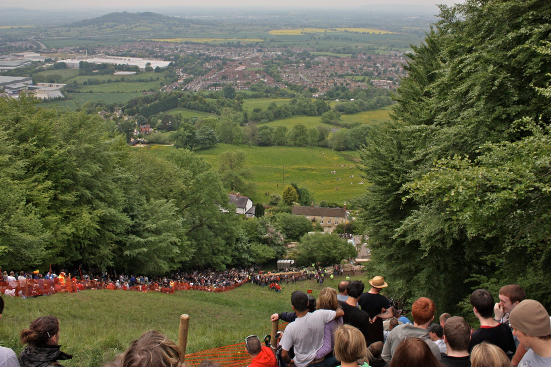 Cooper's Hill Cheese-Rolling and Wake in England - Best Season