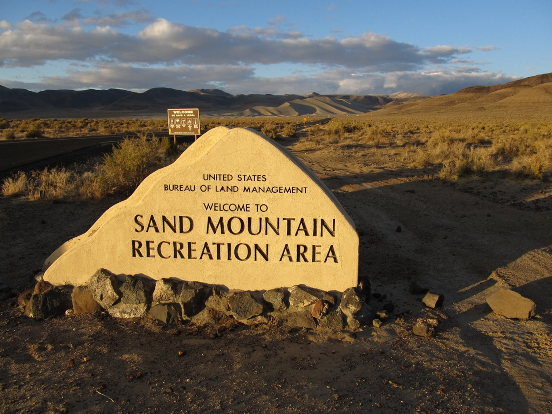 Best time for Sand Mountain in Nevada 2020