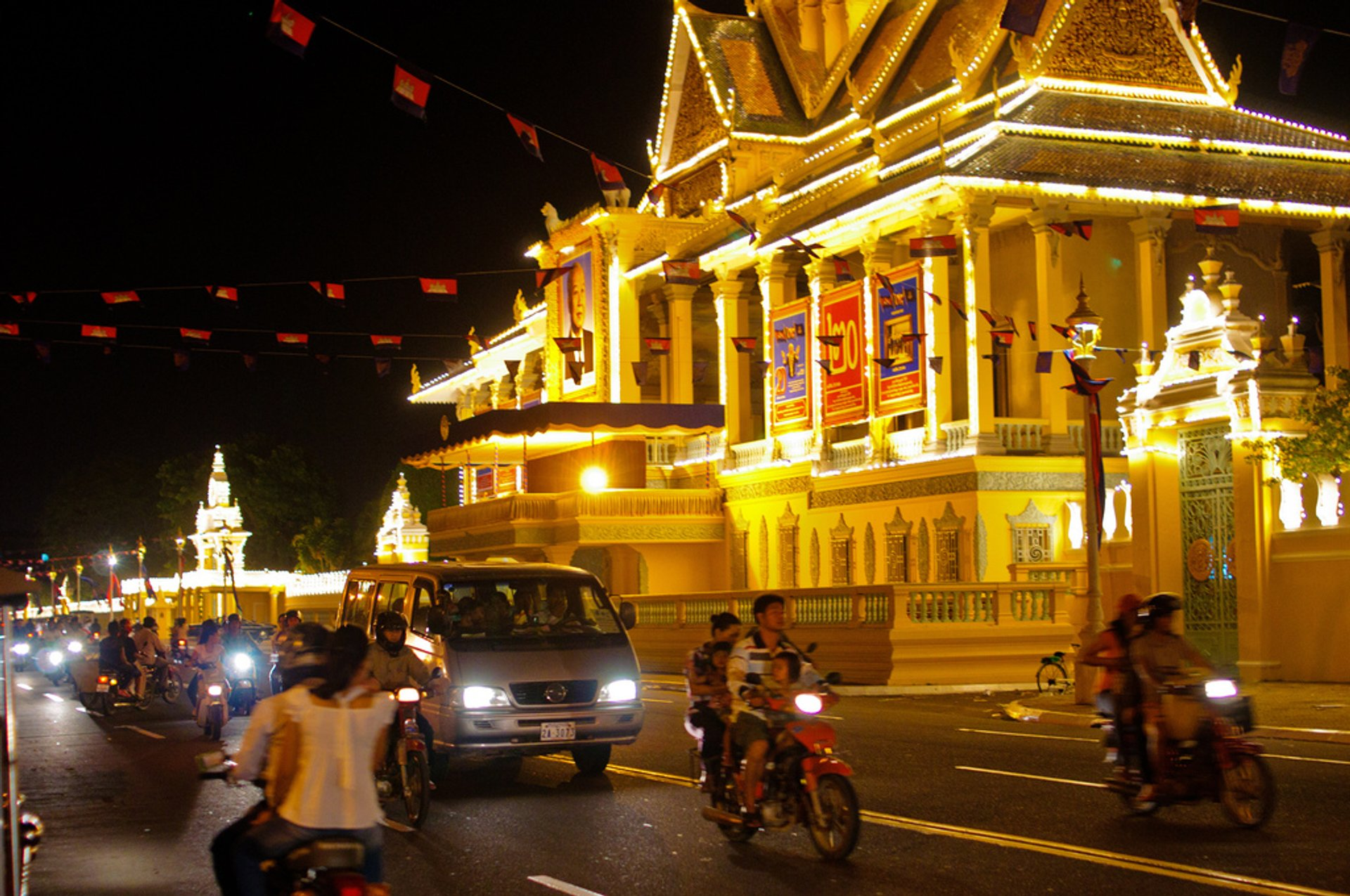 King's Birthday Celebration in Cambodia - Best Season 2019