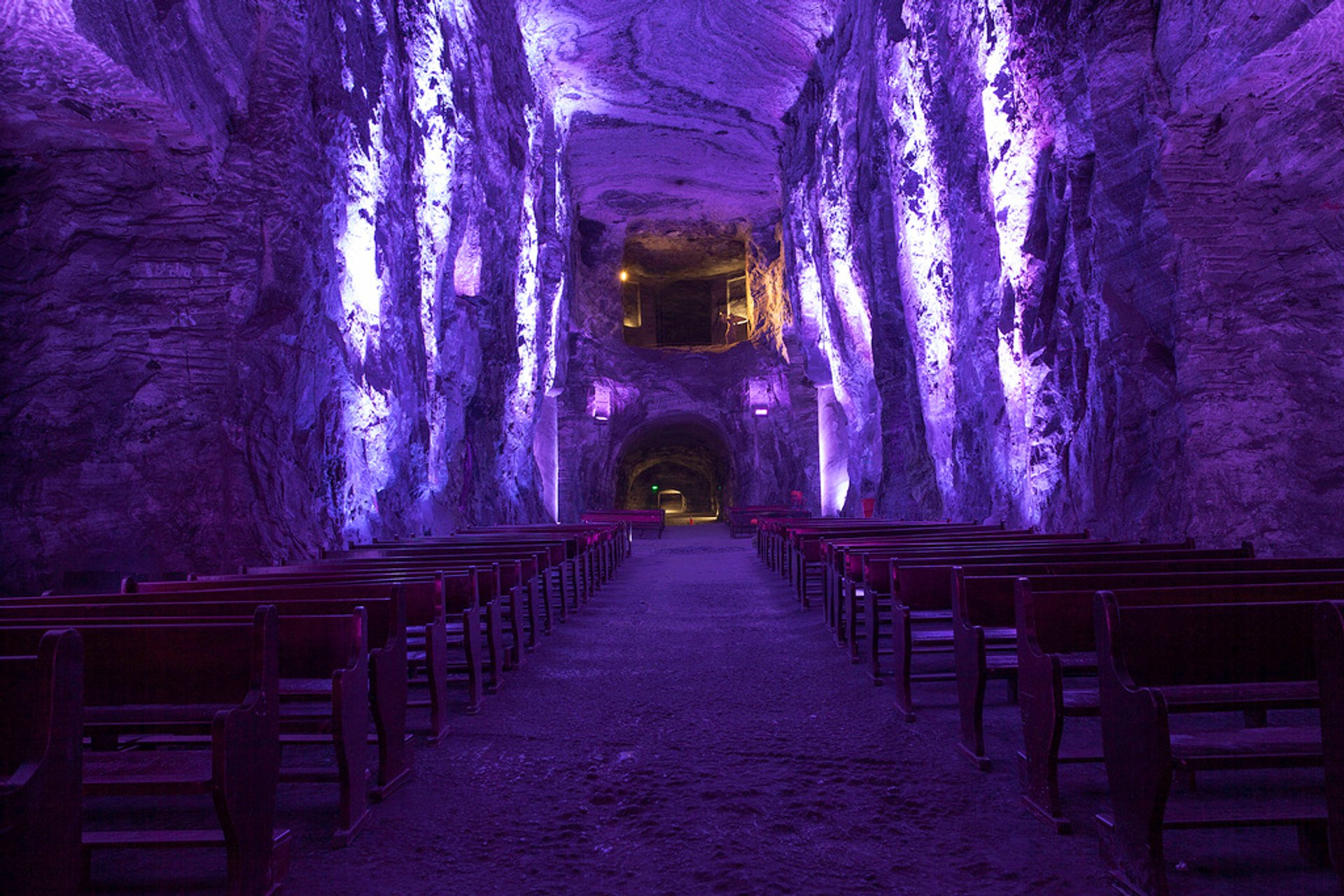 Best time to see Salt Cathedral of Zipaquirá in Colombia 2020