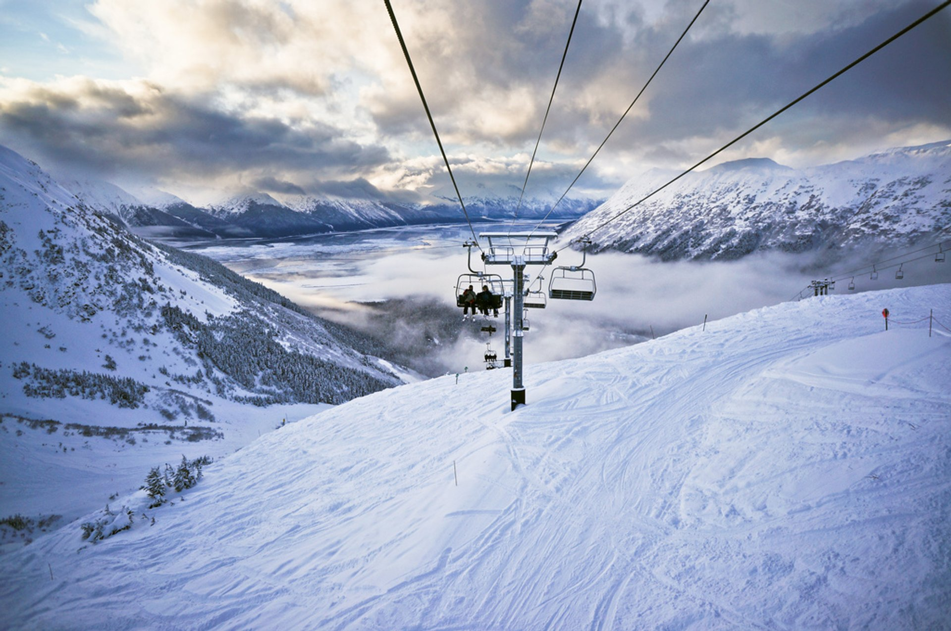Chairlift at Alyeska Resort 2020
