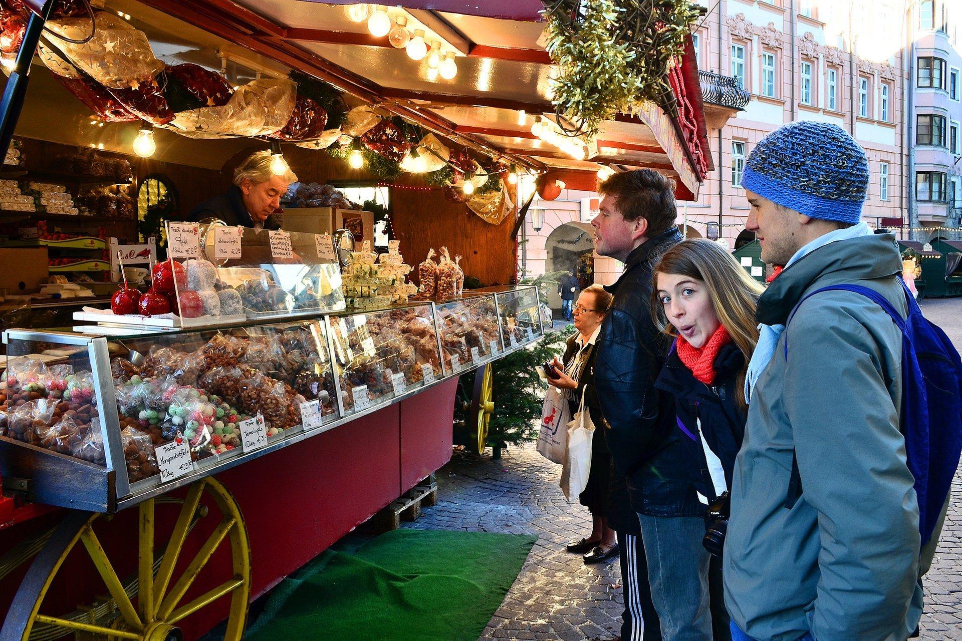 Weihnachtsmarkt, Innsbruck 2020
