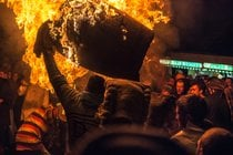 The Tar Barrels of Ottery St Mary