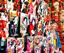 Senso-ji Hagoita-Ichi Fair