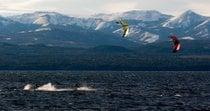 Kitesurfen auf Nahuel Huapi
