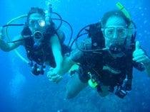 Plongée et plongée en snorkeling sur la côte des Caraïbes