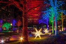 Luzes de Navidad en Atlanta