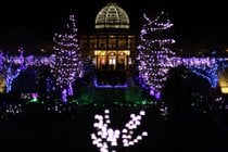 Dominion Energy GardenFest of Lights a Lewis Ginter