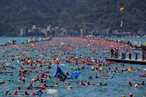 Sun Moon Lake Swimming Carnival