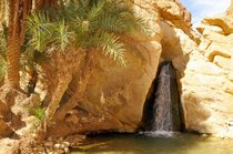 The Waterfall of Tamerza