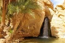 La cascata di Tamerza