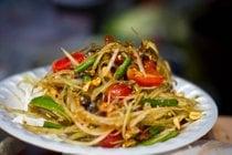 Tam Mak Houng or Papaya Salad