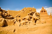 Australische Sandskulpturen