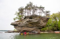 Kayak to Turnip Rock