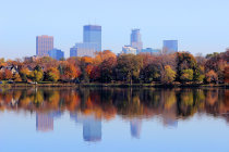 Cores de outono de Minneapolis