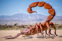 Borrego Springs Metal Sculptures