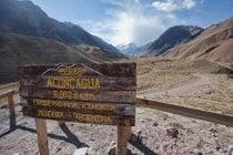 Climbing Mount Aconcagua