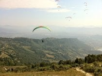 Paragliding over the Pokhara Landscapes
