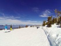 Skifahren am Lake Tahoe