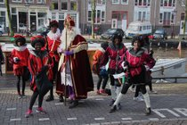 Sinterklaas Arrival Parade in Amsterdam