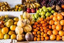 Estación de frutas