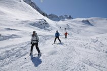 Skiing in the Southern Alps