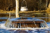 Tuhala Witch's Well Overflowing