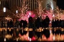 Weihnachtslichter in Salt Lake City