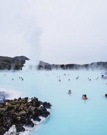 Balneario geotérmico de la laguna azul
