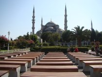 Call to Prayer between Blue Mosque & Hagia Sophia