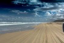 Ruta de la playa de 75 millas