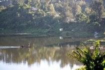 Pesca al lago di Itasia