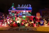 Christmas Lights in London, Ontario