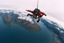 Skydiving in Queenstown